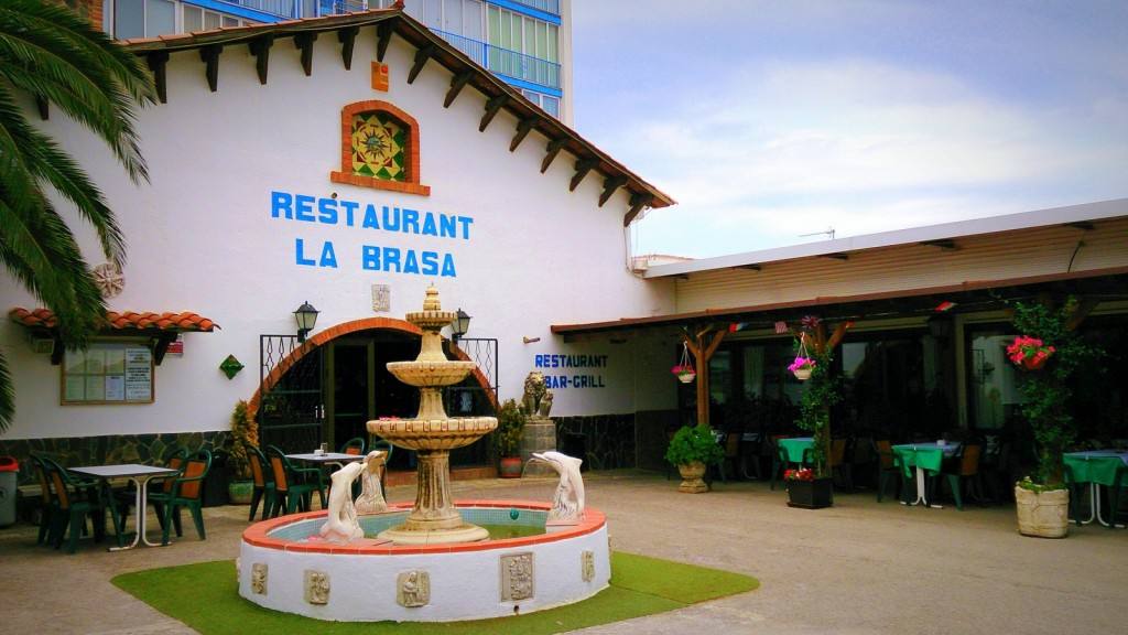 Restaurant La brasa de Roses-exterior